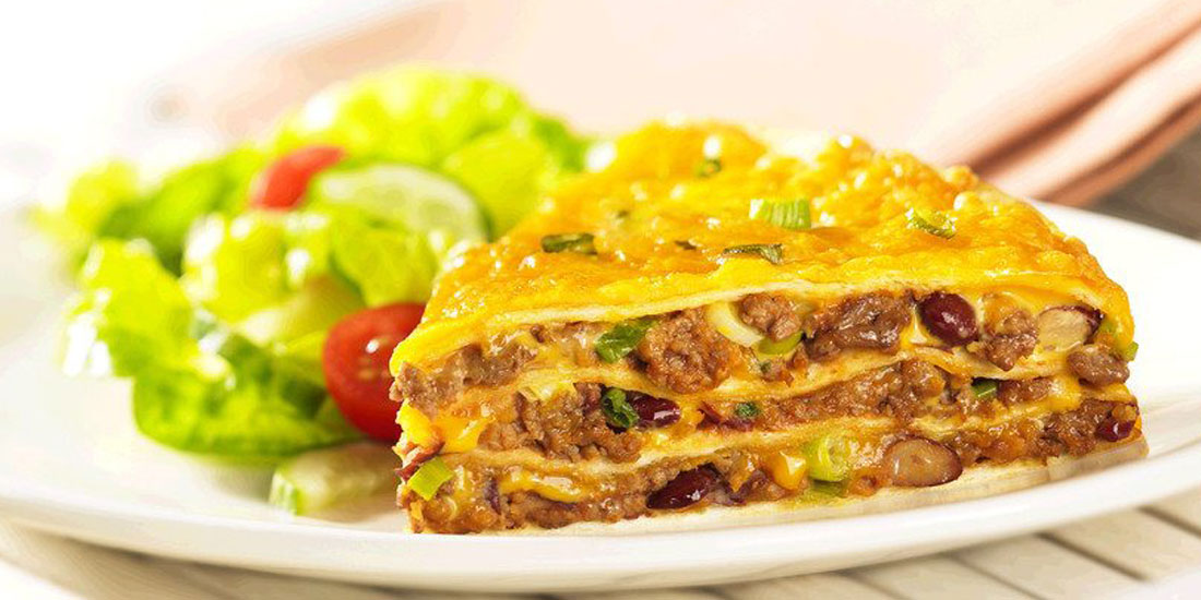 Tortilla Beef Pie