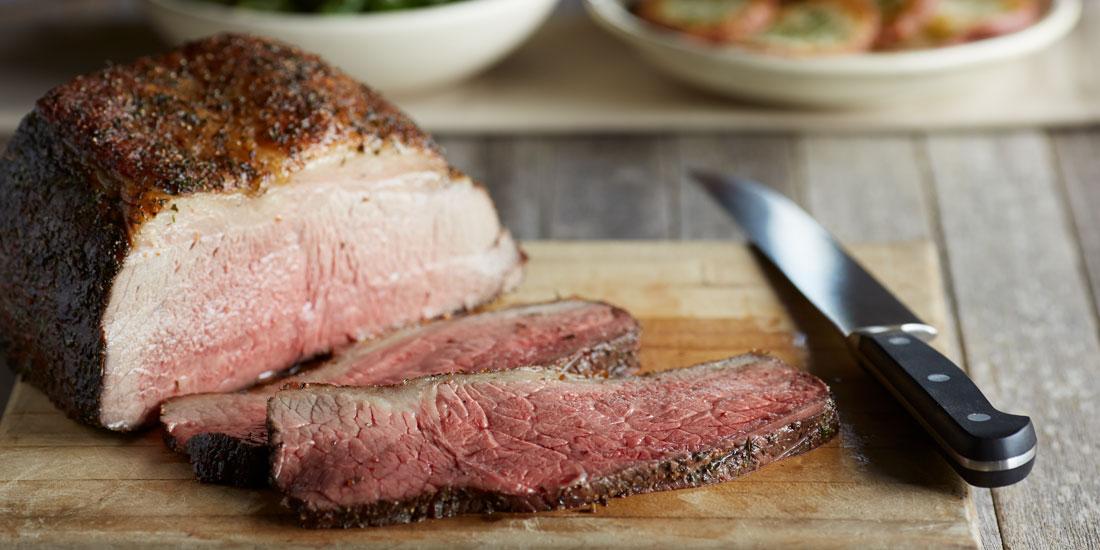 Garlic-Herb Crusted Beef Roast