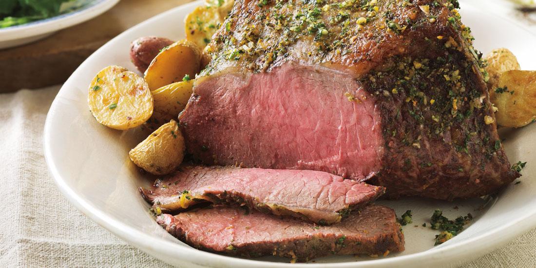 Gremolata-Topped Beef Roast