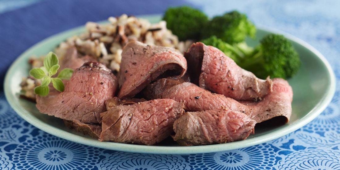 Wine-Marinated Grilled Flank Steak