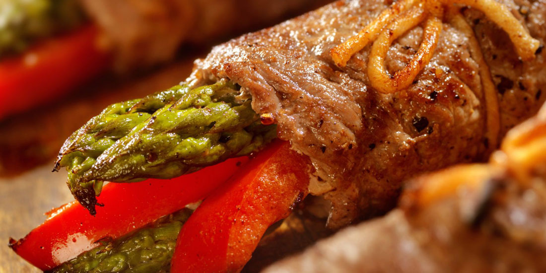 Beef Involtini with Asparagus